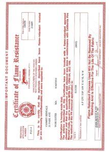 16x16 DIY Certificate