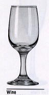 6.5oz White Wine Glass