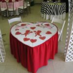 Heart Shaped Table