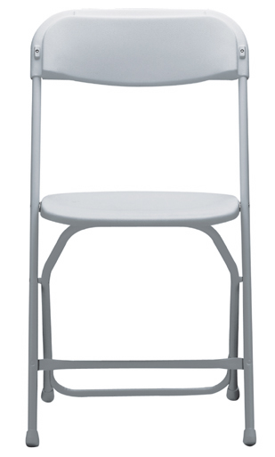 Chair – White Samsonite
