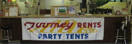 Toomey's Rent-All Center Front Counter