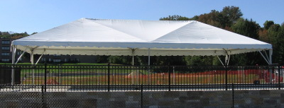 20 x 40 Frame Tent at Assumption College
